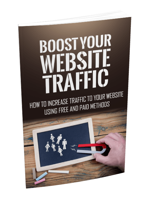 Boost Your Website Traffic eBook
