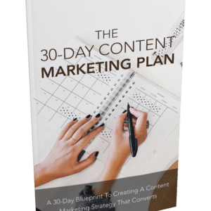The 30-Day Content Marketing Plan eBook