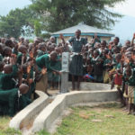 A New Well At A School In Kenya